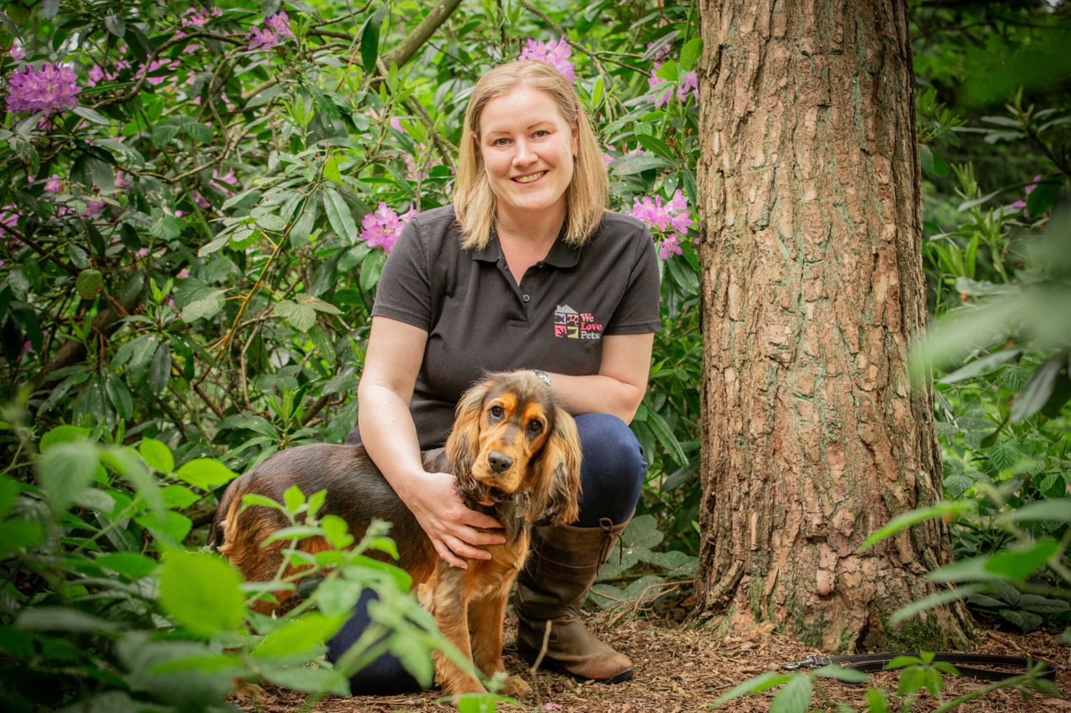 Dog walker and pet sitter in Solihull. Your pet is in safe hands with We Love Pets.