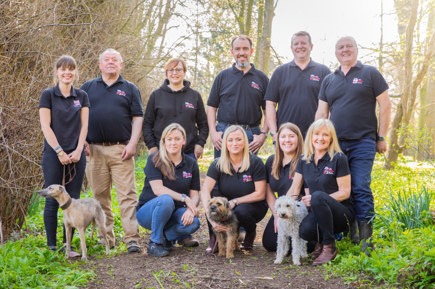 Dog walking and pet sitting in King's Stanley and Stonehouse. Multi award winning We Love Pets.