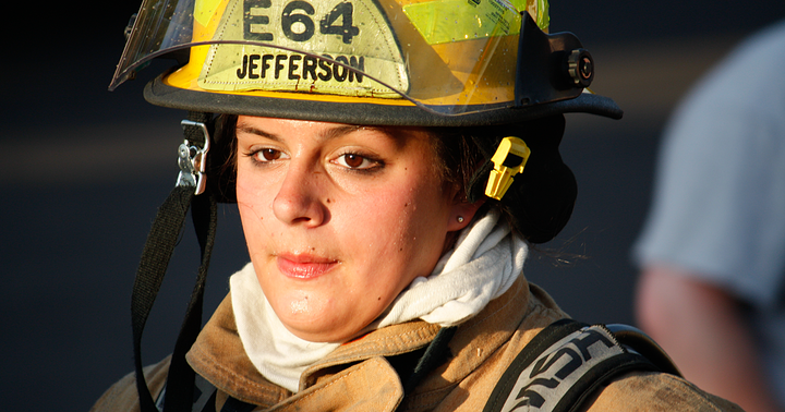Injuries are high in January among female firefighters