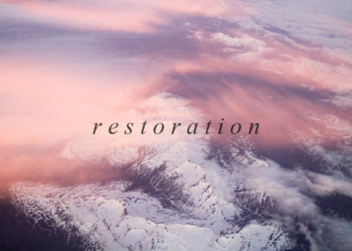 My Anthem Is Restoration