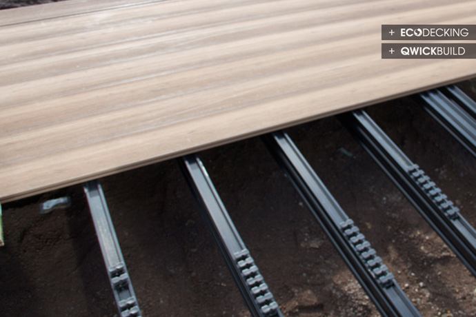 Qwickbuild On Timber Piles And Bearers
