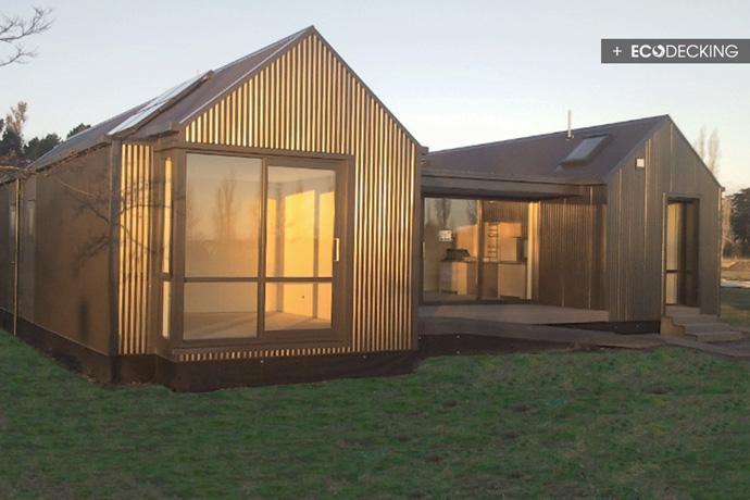 Modern Deck Show Home Versatile Deck Low Maintenance