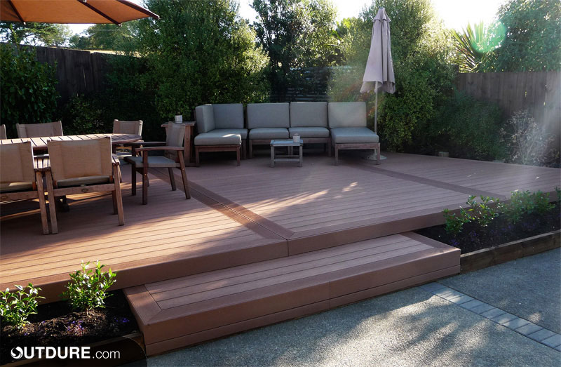 Outdure compare floating deck over membrane products for How much to build a floating deck