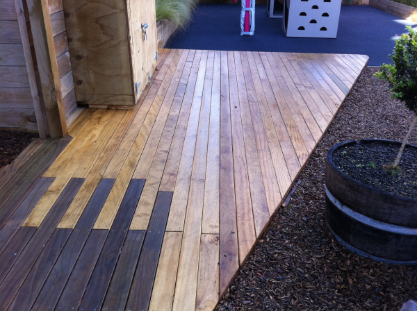 4 key comparisons in decking materials for schools for Composite decking comparison