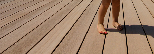 Plastic decking vs hardwood timber decking a simple for Timber decking materials