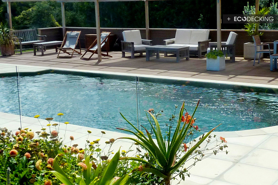 Gallery res pool deck classic almond thom for Pool design auckland