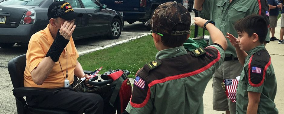 Honoring Our Veterans – A Trail Life Troop's 4th of July Story