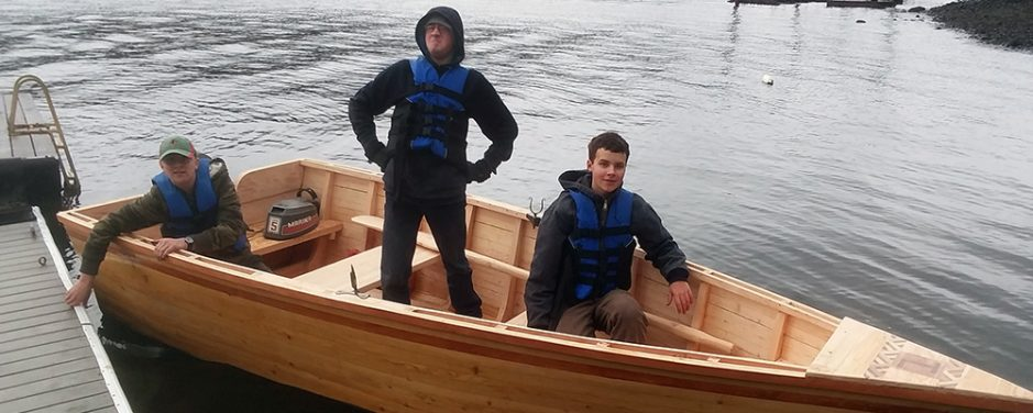 Floating An Impossible Dream: Troop Builds boat