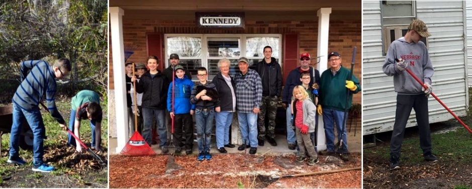 Nebraska Trail Life USA Troop Travels to Florida to Help with Hurricane Clean-up