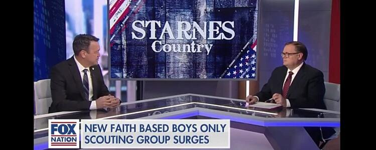 Trail Life USA Discusses Rapid Growth on Fox Nation … Declares Let Boys be Boys