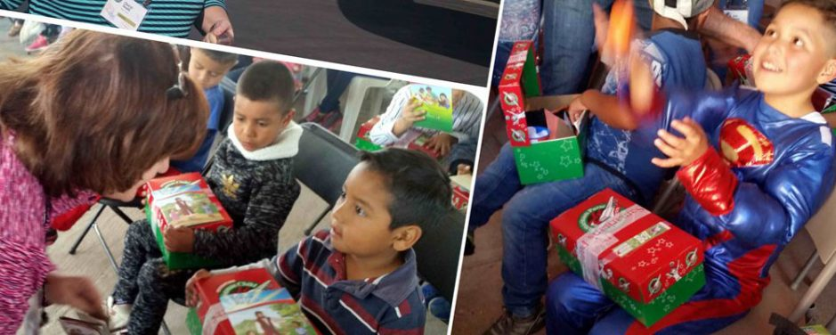 Trail Life Parent Experiences the Impact of a Shoebox Firsthand!