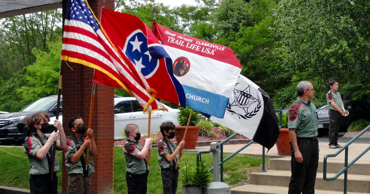Trail Life USA Troops Honor Fallen Heroes Despite Covid Cancellations