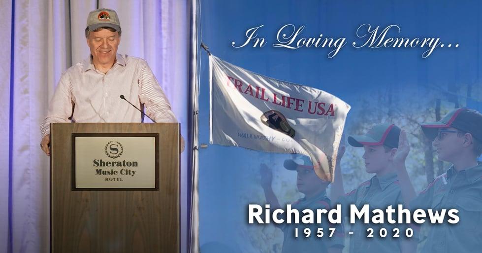 In Memory of Richard Mathews (1957-2020)