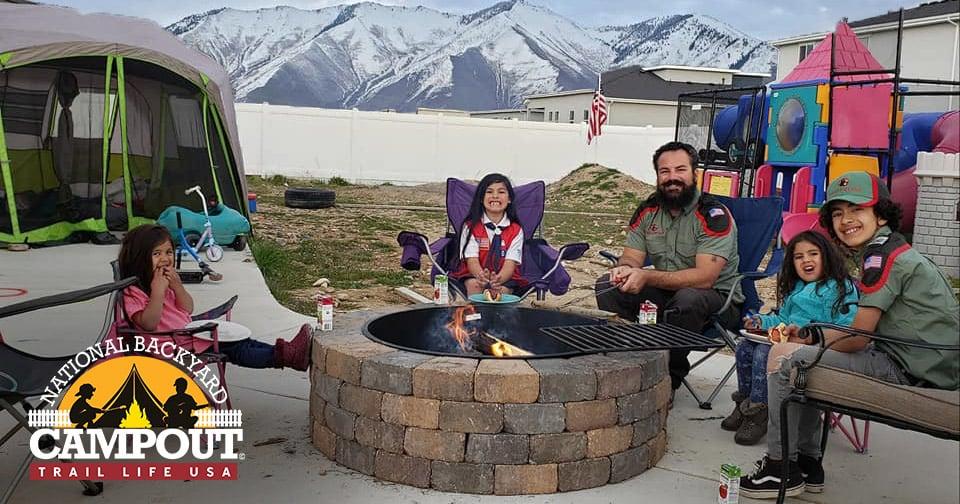 Families Unite Virtually to Make Memories at National Backyard Campout