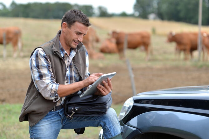 Taking an active role in supporting farming businesses