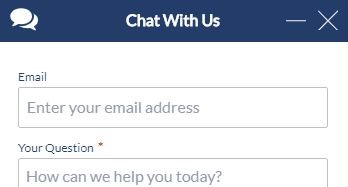 Did You Know: 24/7 Live Chat Support