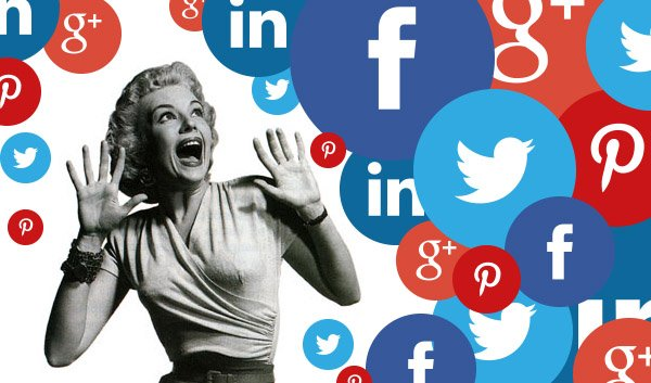 Finding The Right Social Media Tools For The Right Situation on old woman running scared