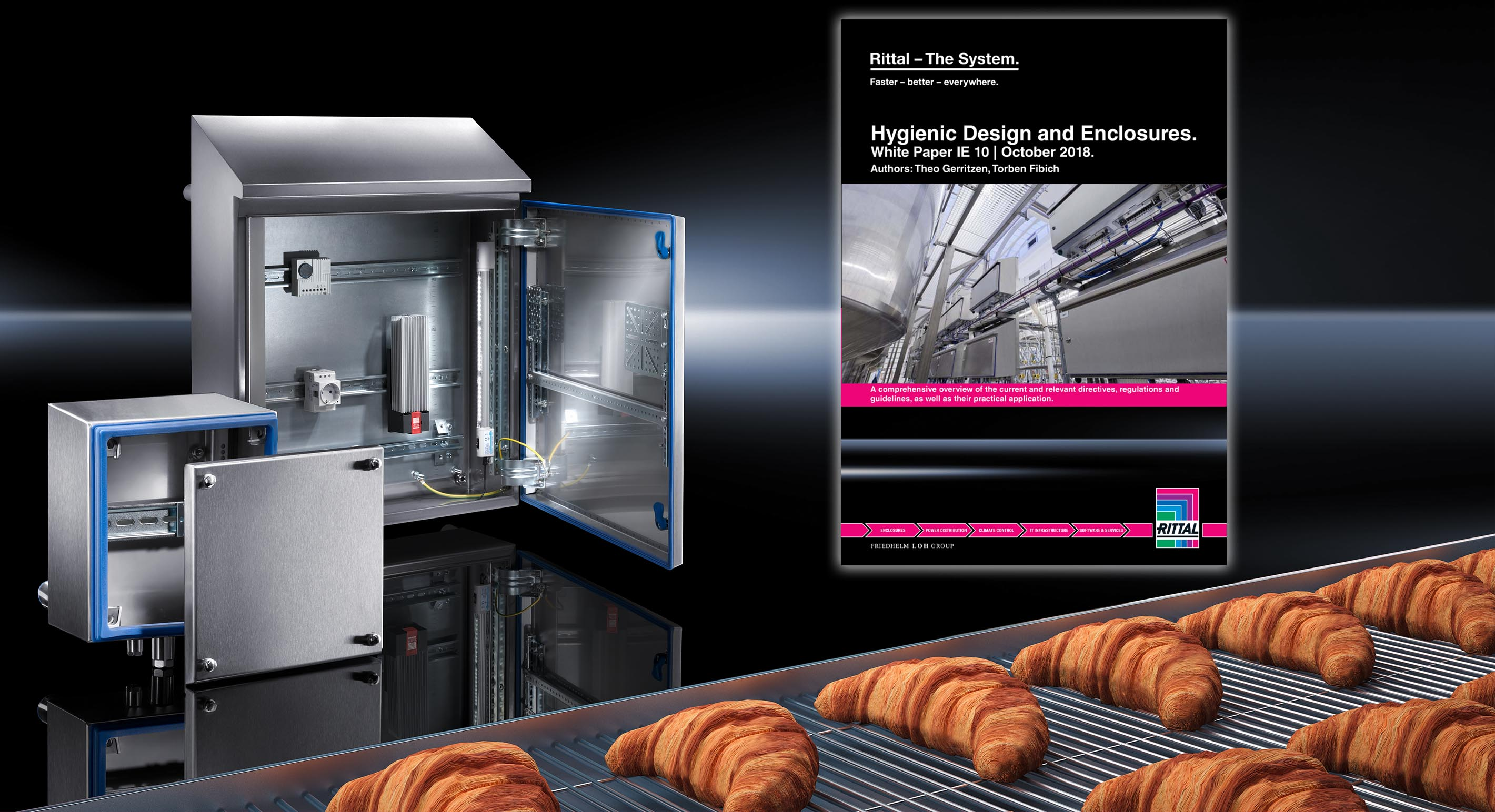Rittal HD ecnclosure white paper - for the food & bev industry