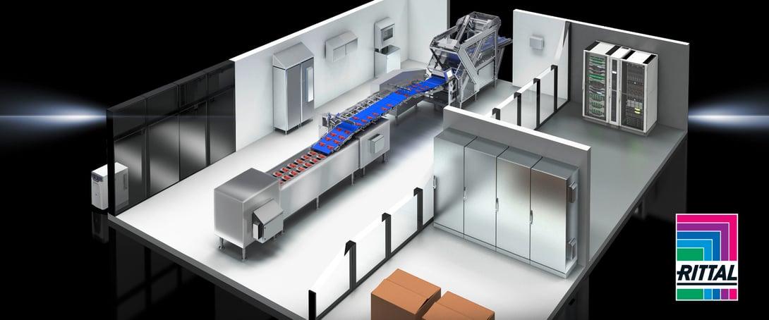 Rittal Hygienic design enclosures for Food & Bev