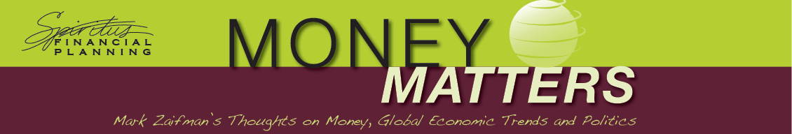 Mark Zaifman blog Money Matters