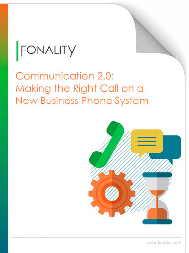 Selecting a new business phone system eBook