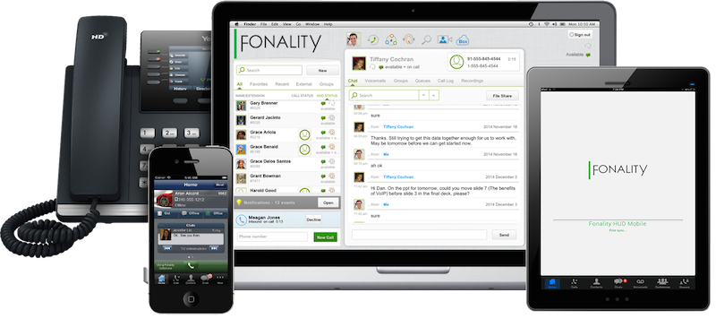 Business phone systems from Fonality