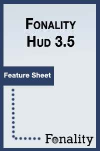 fonality hud featuresheet cover