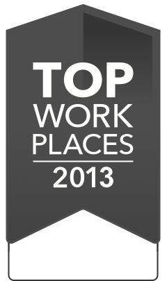 2013 Top Workplaces Winner