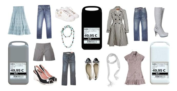 Digitale Preisschilder im Fashionhandel
