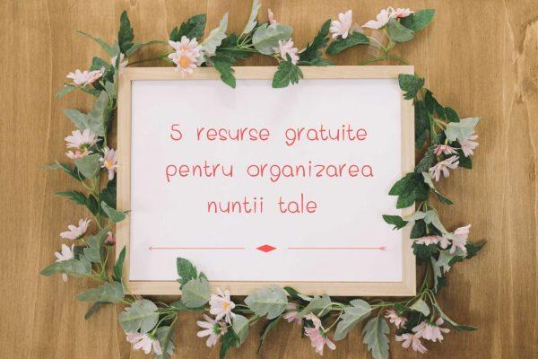 5 resurse de inspiratie pentru nunta