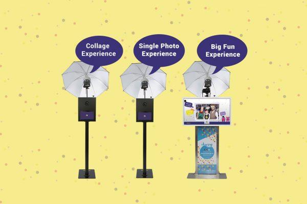 Pachete pentru photo booth la nunta. 3 solutii de la Cheerup