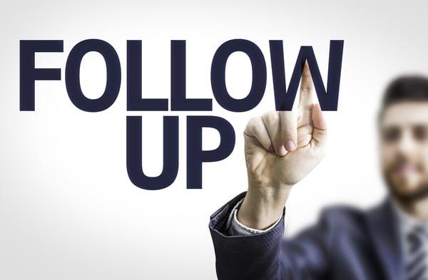 Cum faci follow-up si de ce sa nu omiti acest pas