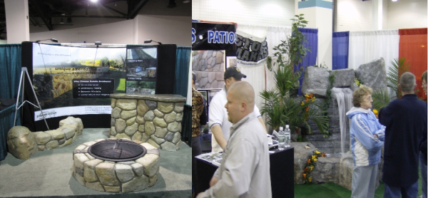 Stonemakers Home Show Booth