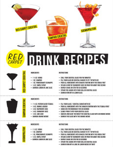 types of drinks at bars
