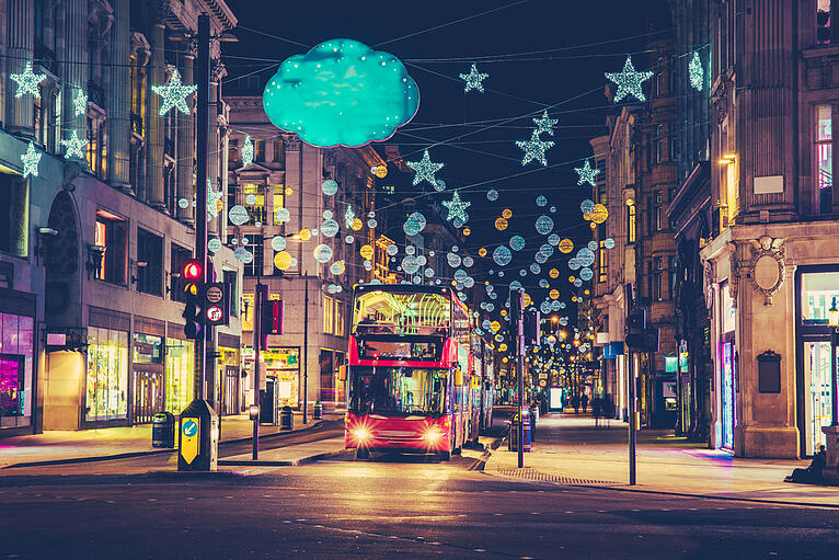 CHRISTMAS MARKETING SPEND UP FROM £6BN TO £6.8BN THIS YEAR