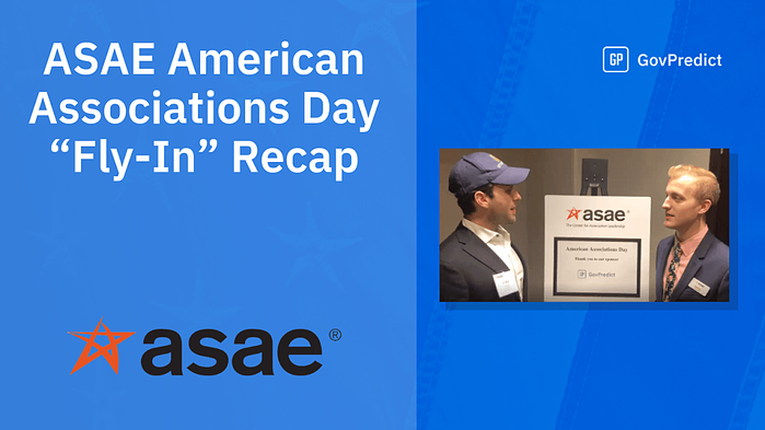 """ASAE American Associations Day """"Fly-In"""" A Success With The Help Of Hill Day Mobile App"""