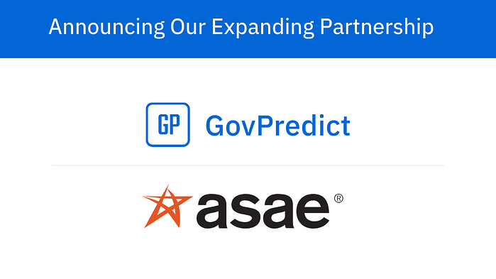 ICYMI – ASAE Announces Expanded Partnership with GovPredict ahead of American Associations Day
