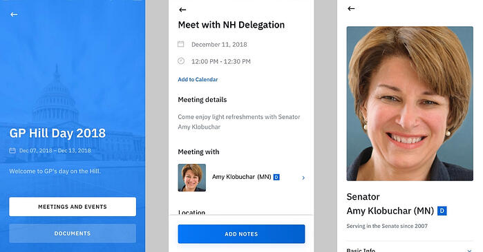 Announcing Hill Day App