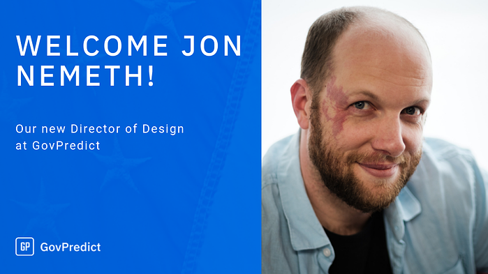 GovPredict Builds Team, Adds Jon Nemeth as Director of Design