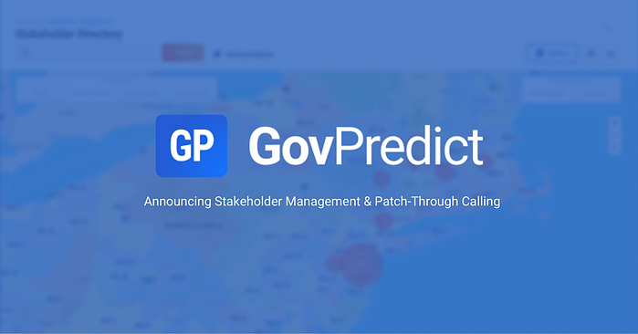 Announcing Stakeholder Management & Patch-Through Calling