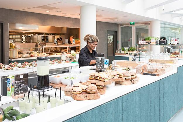 Bedrijfsrestaurant Vitam M-mediagebouw Hilversum