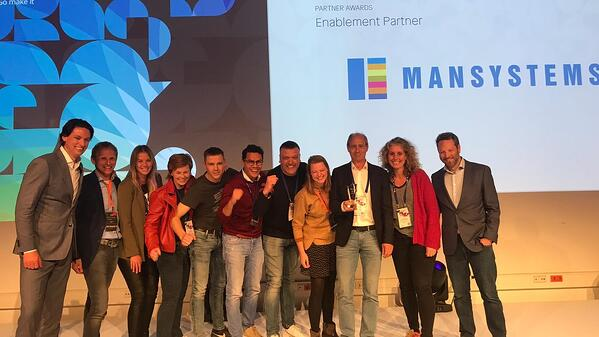 Mansystems wint Enablement Partner award tijdens Mendix World