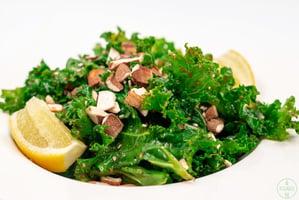 Kale-Ginger-Salad-with ginger sesame dressing