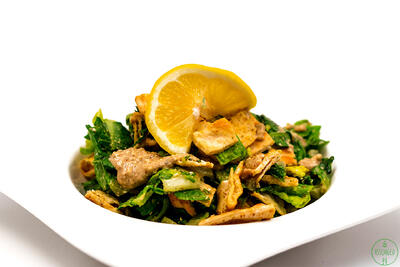 VCaesar Goes Vegan—With Homemade Croutons