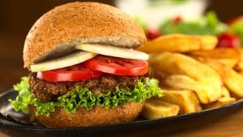No Meat Lentil Mushroom Plant-Based Burger Patties