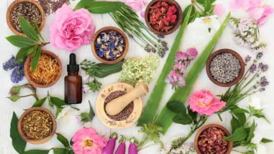 Herbs That Heal essential oils and flowers