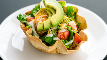 Meal Prep: Tempeh Taco Bowls with Non-Dairy Sour Cream