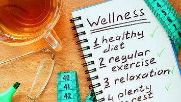 Checklist for boosting the immune system's defense for covid-19 wellness