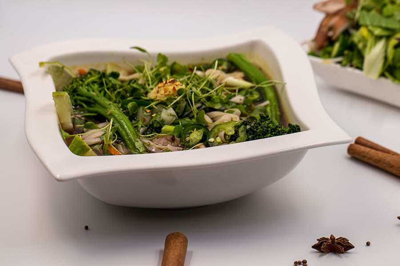 VVietnamese Lemongrass Pho Noodle Pressure Cooker Recipe