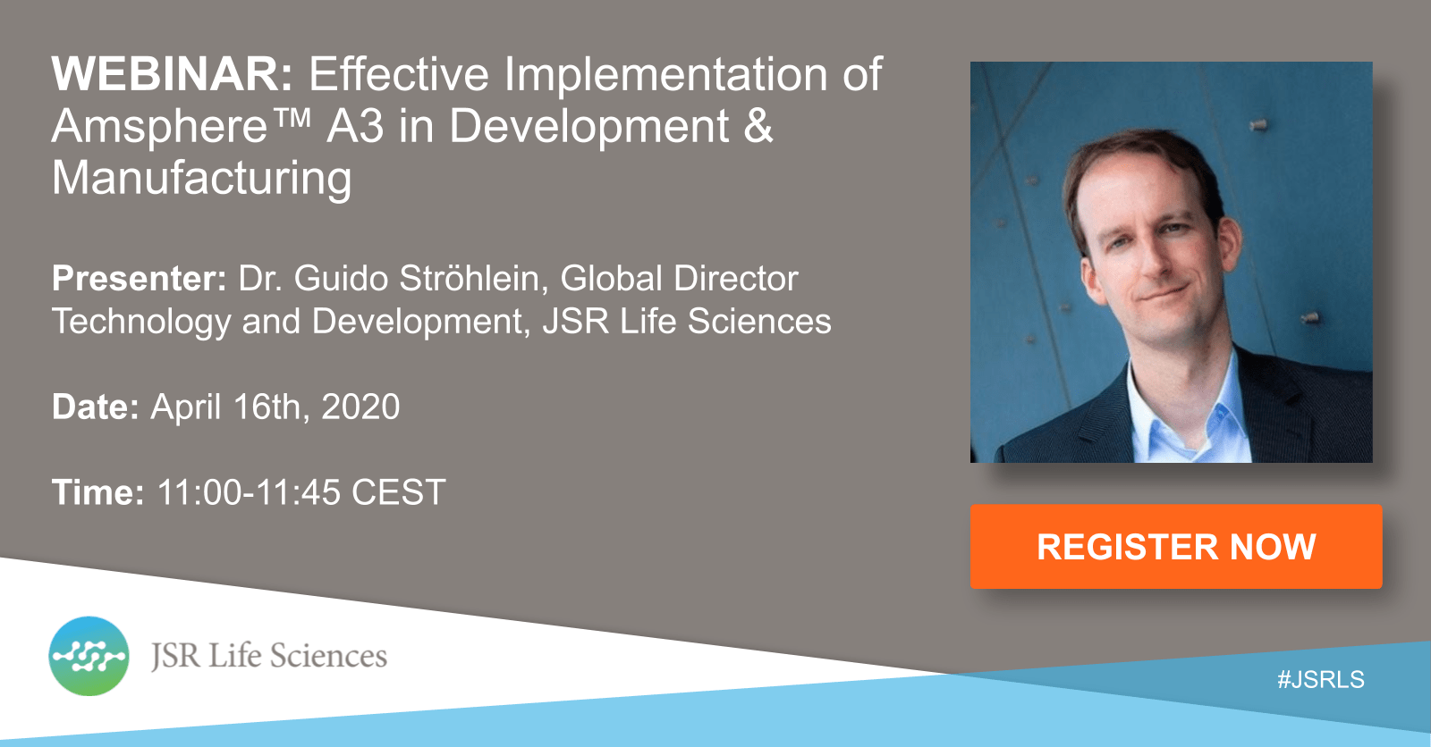Webinar:Effective implementation of Amsphere™ A3 in Development & Manufacturing